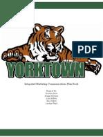 yorktown final plan book