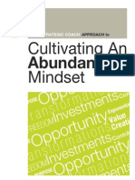 Strategic Coach Cultivating an Abundance Mindset