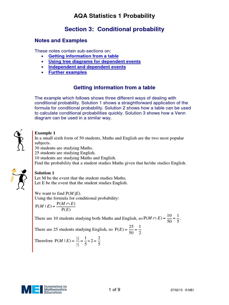Conditional probability probability applied mathematics pooptronica
