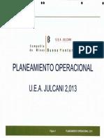 PLANEAMIENTO OPERACIONAL JULCANI  JUNIO 2013.pdf