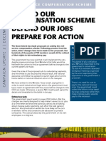 Civil Service Compensation Scheme Campaign Update 2 | December 2009