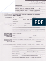 Tim Russ Maras Individual App Form