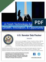 Senator Fischer Tech Agenda