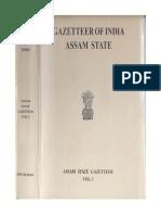 Gazetteer of India Assam State. Vol-1