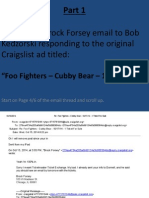 Foo Fighters @ The Cubby Bear 10/17/14