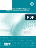 DOJ - Law Enforcement Intelligence - Guide for State, Local, & Tribal Law Enforcement Agences (2d Ed. May 2009)