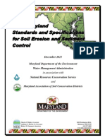 2011 MD Standard and Specifications for Soil Erosion and Sediment Control