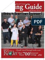 Fall 2014 QC Dining Guide by River Cities' Reader Part1