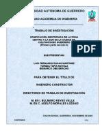 zonificacion de la ciudad de chilpancingo