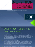 Encryption Schemes