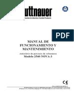 Autoclave NOVA-3, de Tuttnauer, Manual de Usuario.pdf