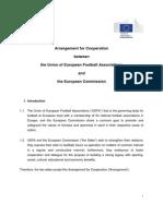 UEFA-EU Cooperation Agreement (2014)