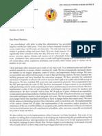 Superintendent John Deasy's Letter of Resignation From LAUSD 101514