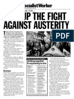 SW Leaflet for TUC Demonstrations