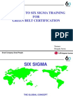 SIX SIGMA  Training manual.ppt