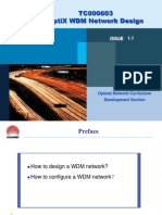 Optix Wdm Network Design Issue1.1