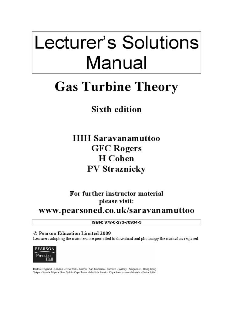 0367 gturbinet 6ebysaravanamuttoo pdf copyright photocopier rh scribd com Gas Turbine Diagram Gas Turbine Diagram