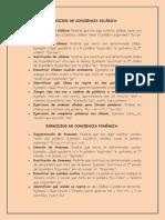 286 Ejercicios Para Trabajar La Dislexia