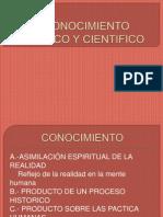 Clase 5,6 conocimiento empirico ,cientifico  y metodo de la ciencia.pptx