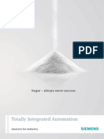 Siemens Sugar Brochure Automation