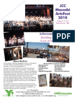 JCC Maccabi ArtsFest 2010