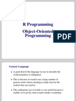 Object Oriented Programming in R
