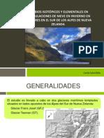 CAMBIOS ISOTÓPICOS Y ELEMENTALES EN ACUMULACIONES DE NIEVE.pptx
