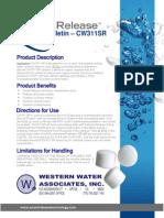 wwacw311sr product bulletin