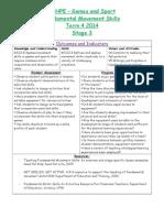fundamental movement skills term 4 stage 3