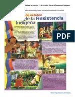 otras actividades de aula para el 12 de octubre  resistencia indgena