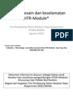 Konsep Desain Dan Keselamatan HTR-Module