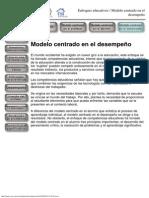 1. Enfoques educativos - Modelo centrado en el desempeño.pdf