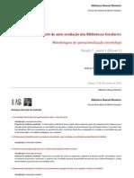 Enunciados descritivos e avaliativos no relatório de auto-avaliação