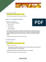 Week 1 DavidsonX D001x Medicinal Chemistry Weekly Summary