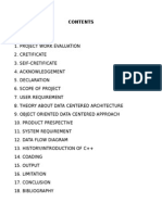 Student Report Cart System in Cpp Project