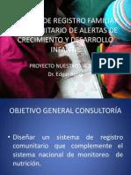 Sistema de vigilancia familiar y comunitario de Eventos Cotidianos de crecimiento y desarrollo infantil