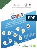 Studiu iniţial în rândul angajatorilor pentru identificarea celor mai importante competenţe comune ale potenţialilor angajaţi