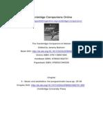 The Cambridge Companion to Mahler - 3 - Music and Aesthetics