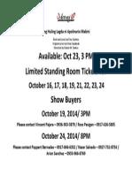 Ang Huling Lagda Ni Apolinario Mabini Available as of Oct 16