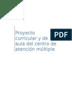 Proyecto curricular y de aula del CAM.doc