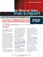 No-Nonsense Muscle Building - Skinny Guy Secrets