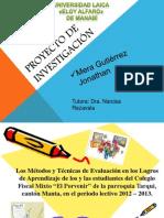 SUSTENTACIÒN DEL PROYECTO DE TESIS 2012.pptx