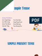 1. Simple Tense