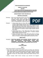 Permendagri No 24 Tahun 2009 Ttg Pedoman Cara Perhitungan Bantuan Kauangan Parpol Dlm APBD Ok
