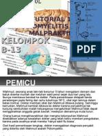 Poliomielitis dan Malpraktek