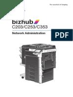 Bizhub c203 c253 c353 Network Admin 2-1-0 En