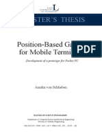Position Based Application for Mobile