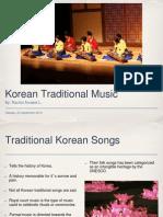 korean traditional music - rachel