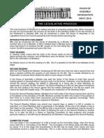 Parliament of South Australia Bills Info Sheet
