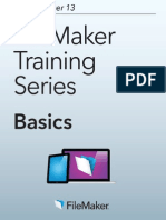 FileMaker Pro 13 Basics English